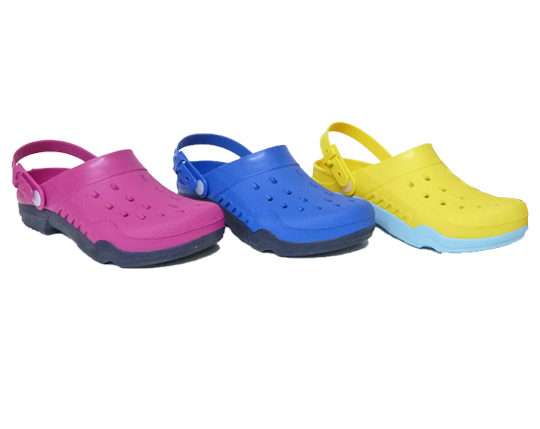 Women's Clogs with Back StrapSizes 36 - 41