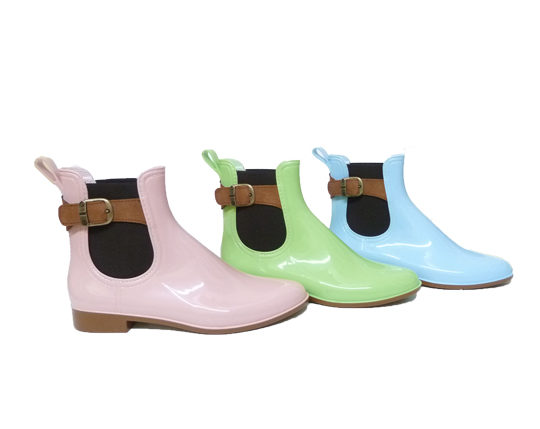 Women's Boots with fashionable Buckle4150 Sizes 36 - 41