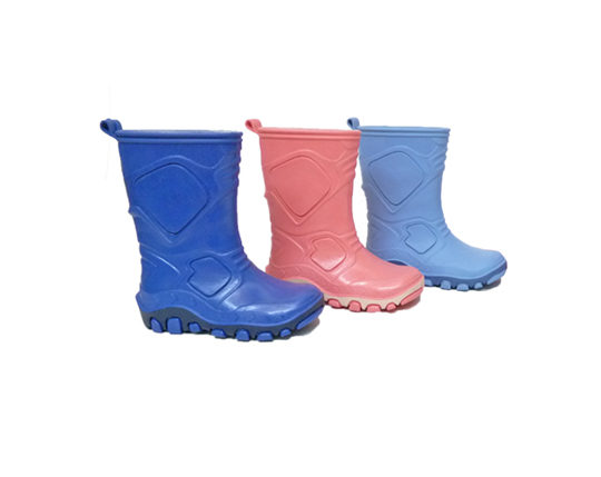 Kid's Rain Boots for Girls and BoysS100 Sizes 22 - 35