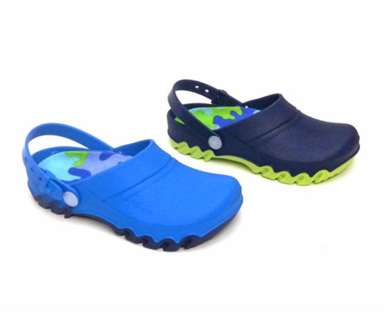 Kid's Clogs with Back Strap06 Sizes 24 - 35