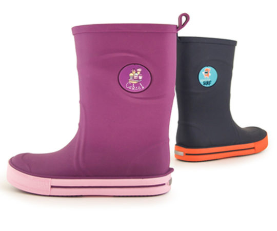 Kid's Rain Boots for Girls and BoysS300 Sizes 26 -35