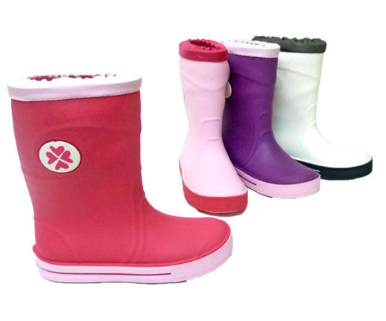 Kid's Rain Boots for Girls and BoysS300 Sizes 26 - 35
