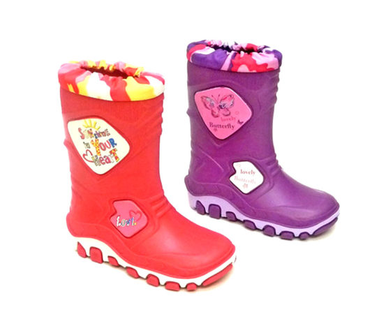 Kid's Boots with Automatic Cuff S150 Sizes 22 -35