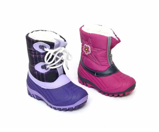 Kid's Boots with Warm Lining1200 Sizes 24 -35