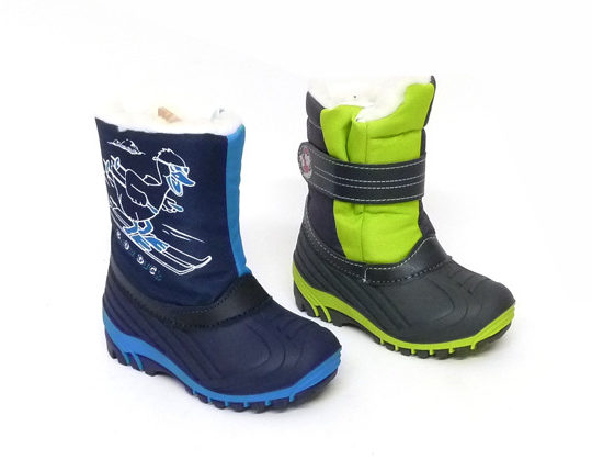 Kid's Winter Boots with Zipper1400 Sizes 24 - 35