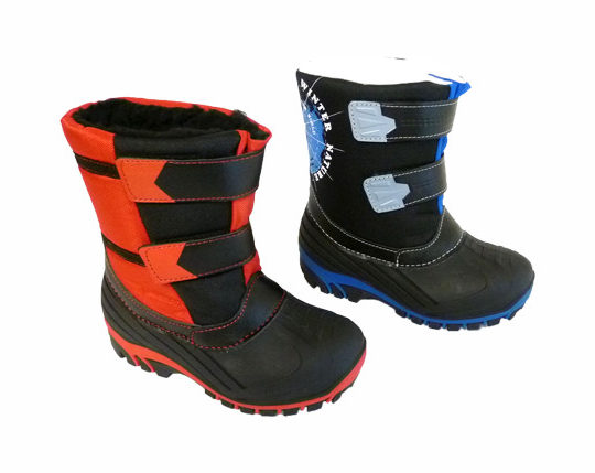 Kid's Winter Boots with Velcro1600 Sizes 24 - 35