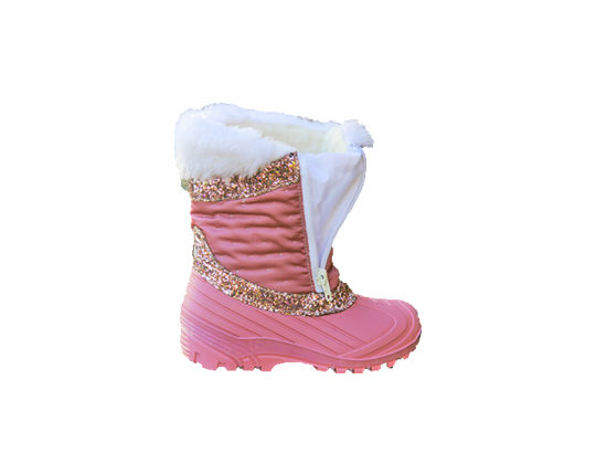 Kid's Winter Boots with Zipper1653 GL Sizes 24 - 35