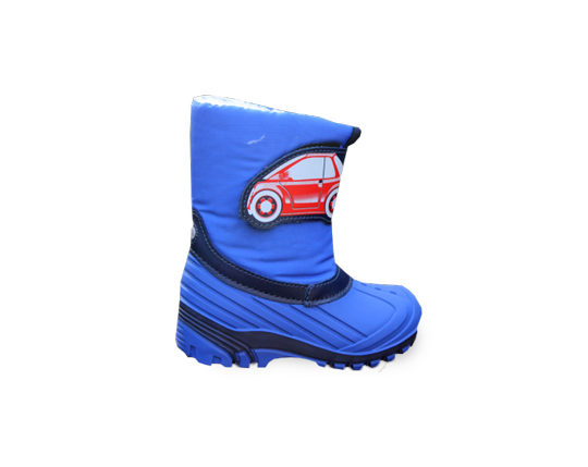 Boy's Winter Boots with Warm Lining1657 Sizes 24 - 35
