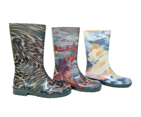 Women's High Boots with various Prints800L Sizes 36 - 41