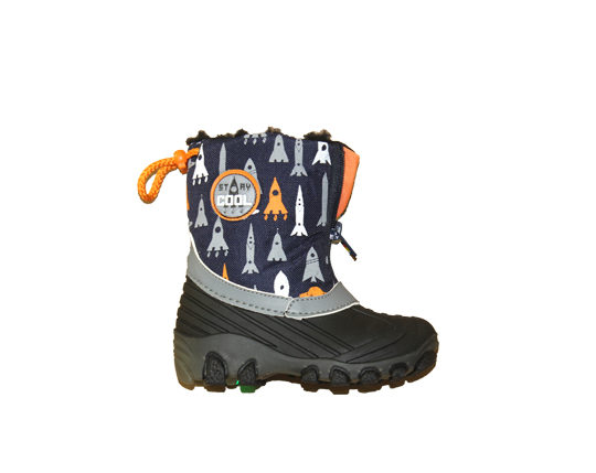 Kid's Boot with Warm Lining1672 Sizes 24 - 25, 28 - 29