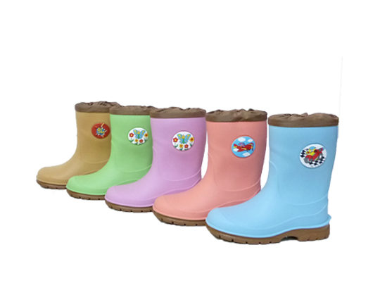 Kid's Rain Boots with Print360 Sizes 22 - 35