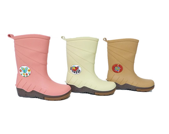 Kid's Rain Boots with PrintF1100 Sizes 24 - 35