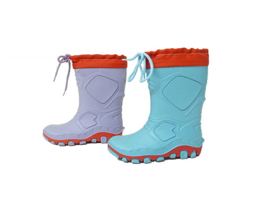 Kid's Rain Boots with Nylon CuffS155 Sizes 22 - 35