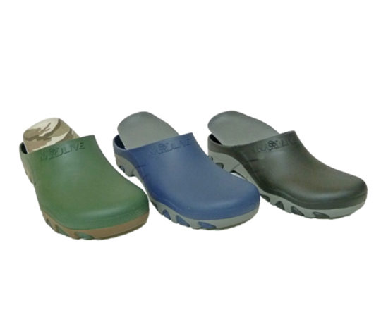 Men's Clogs with Footbed10; Sizes 40 - 46